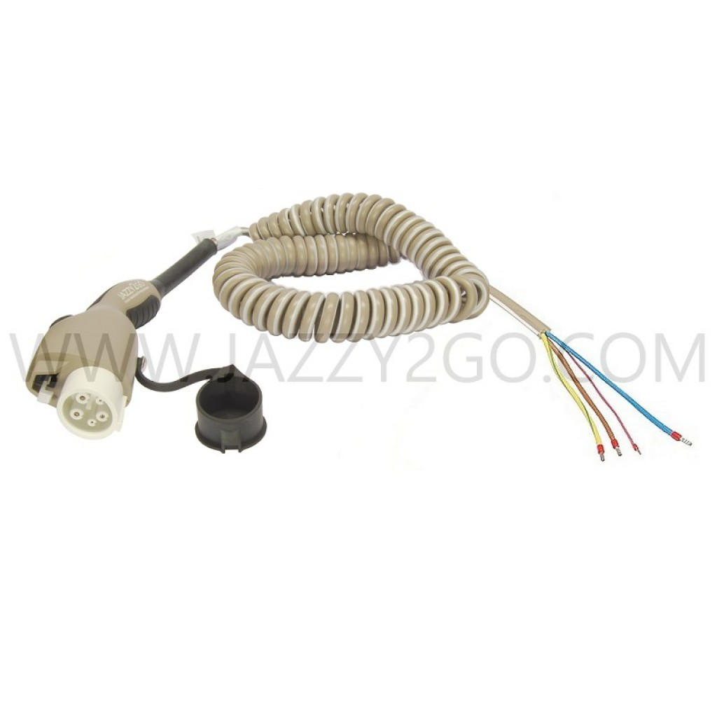 Coil Charging Cable 1 Phase - 32A Car plug Type 1 / permanent attachment mode 3