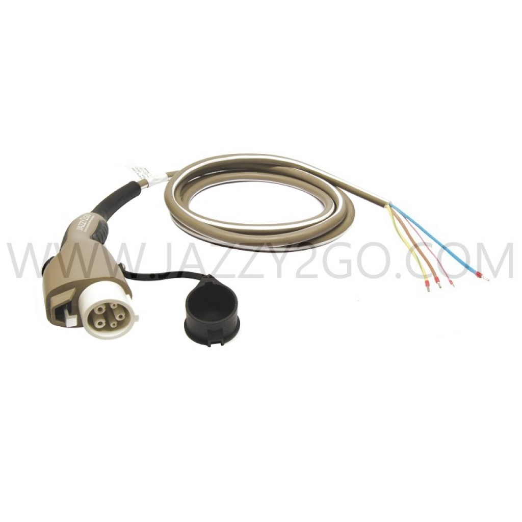 Charging Cable 1 Phase - 16A Car plug Type 1 / permanent attachment mode 3